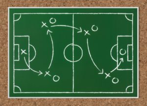 basketball Xs and Ox diagram