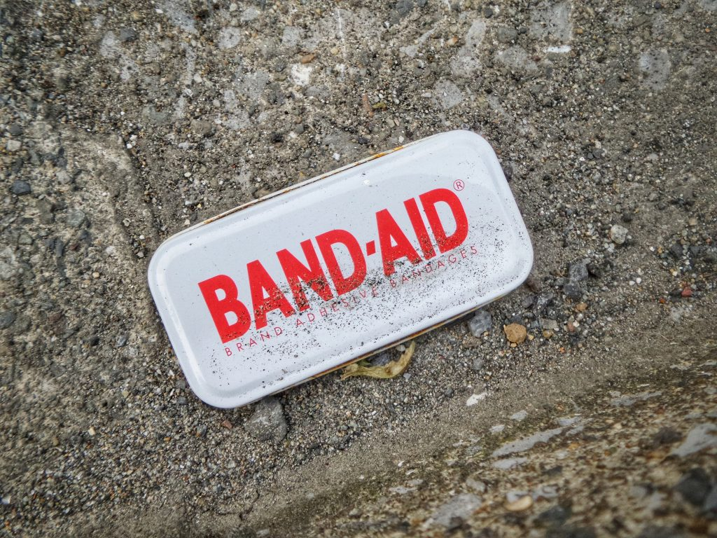 band aid for budgeting