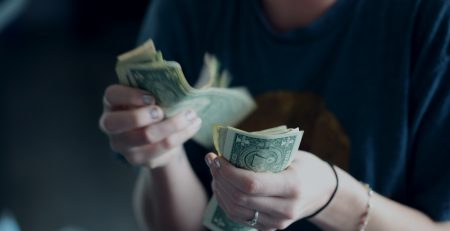 counting dollars from smart budgeting